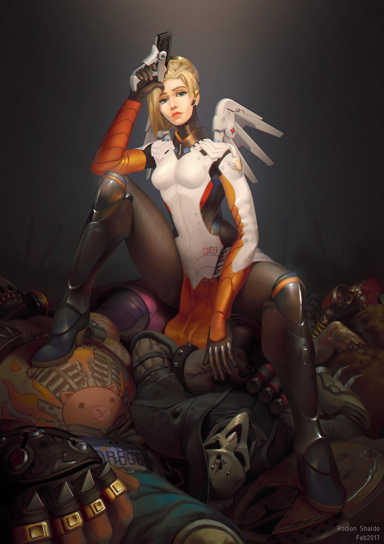 Sexy mercy fanart