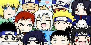 Me with the Naruto boys