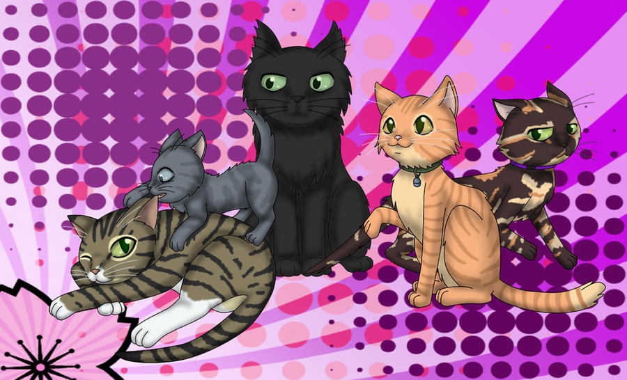 Our Family Of Cats By Shaami On Deviantart