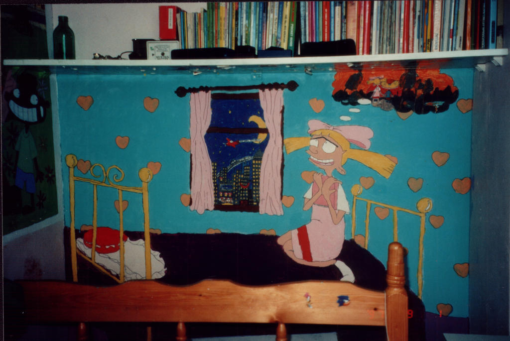 Hey arnold character mural 2 by shaami on deviantart for Character mural