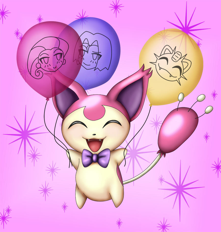 Maylie 39 s birthday skitty by shaami on deviantart - Pokemon skitty ...
