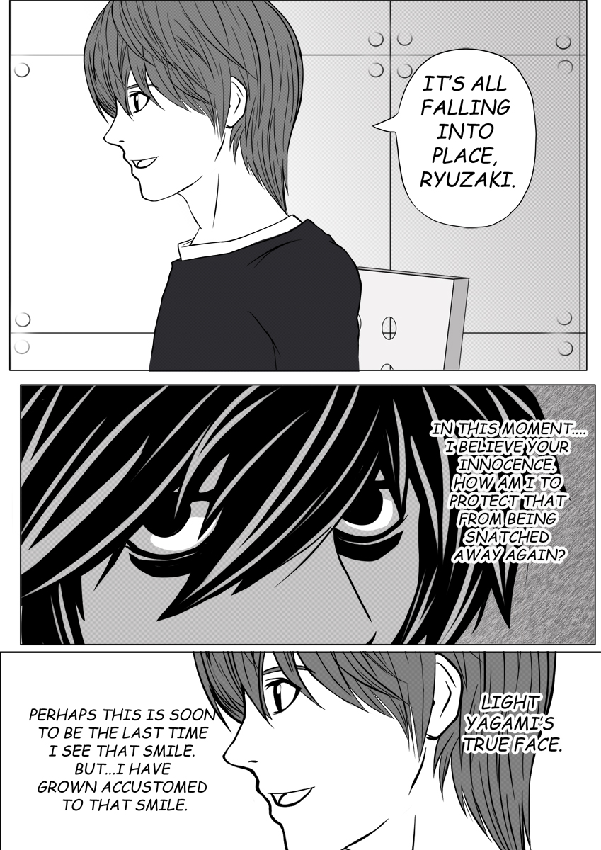 Death Note Doujinshi Page 2 by Shaami on DeviantArt