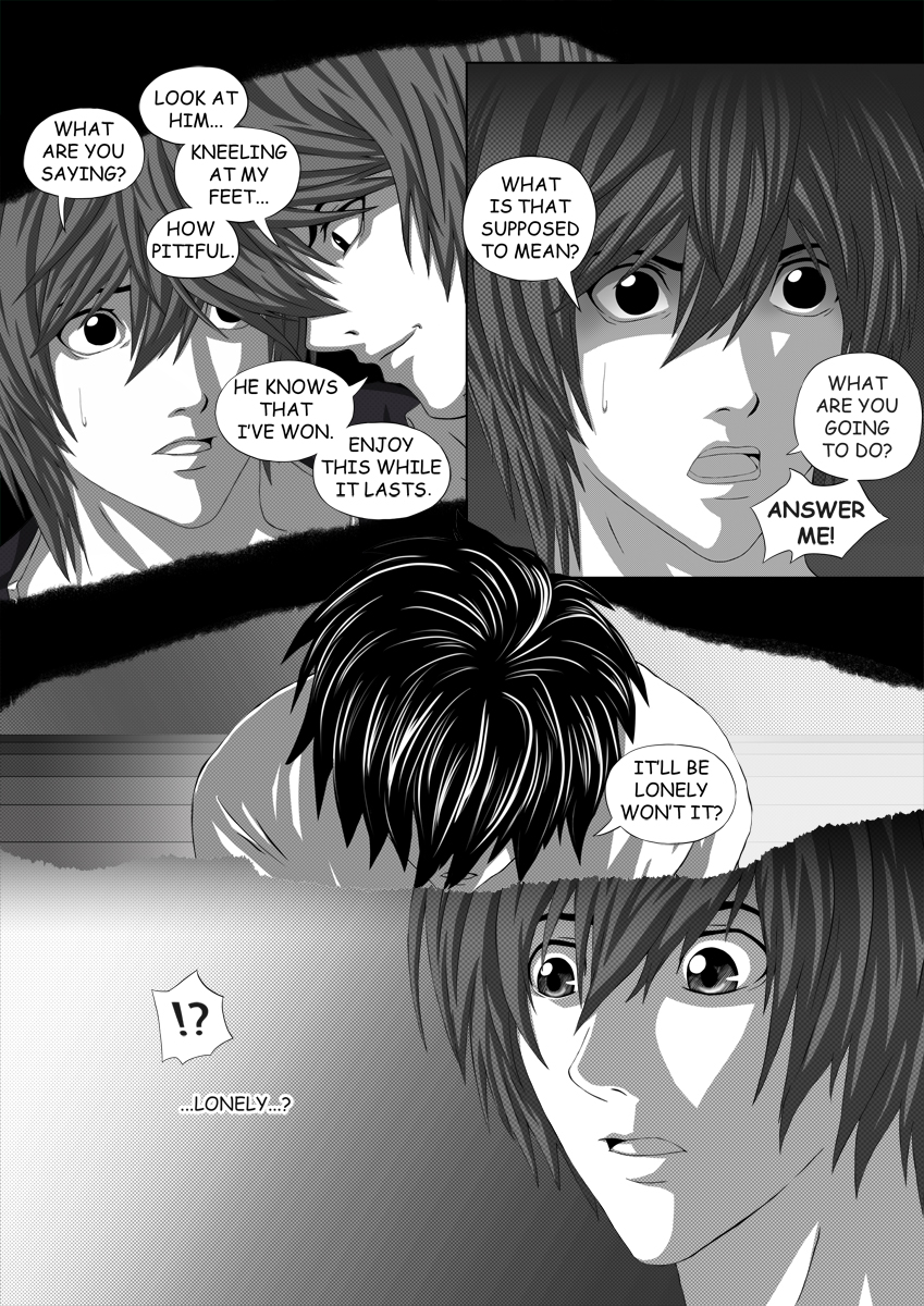 Death Note Doujinshi Page 44 by Shaami on DeviantArt
