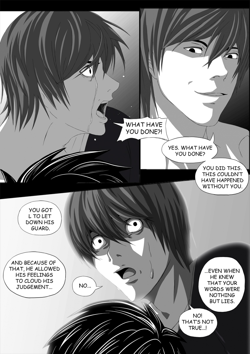 Death Note Doujinshi Page 58 by Shaami on DeviantArt