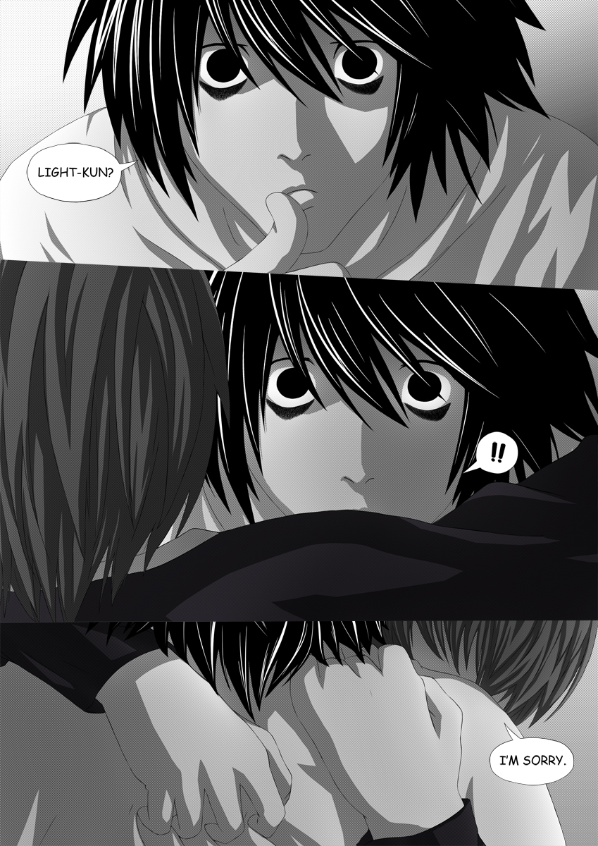 Death Note Doujinshi Page 68 by Shaami on DeviantArt