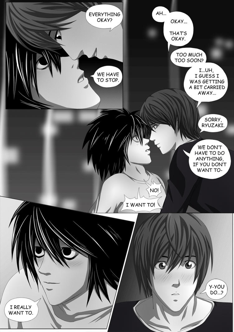 Death Note Doujinshi Page 88 by Shaami on DeviantArt