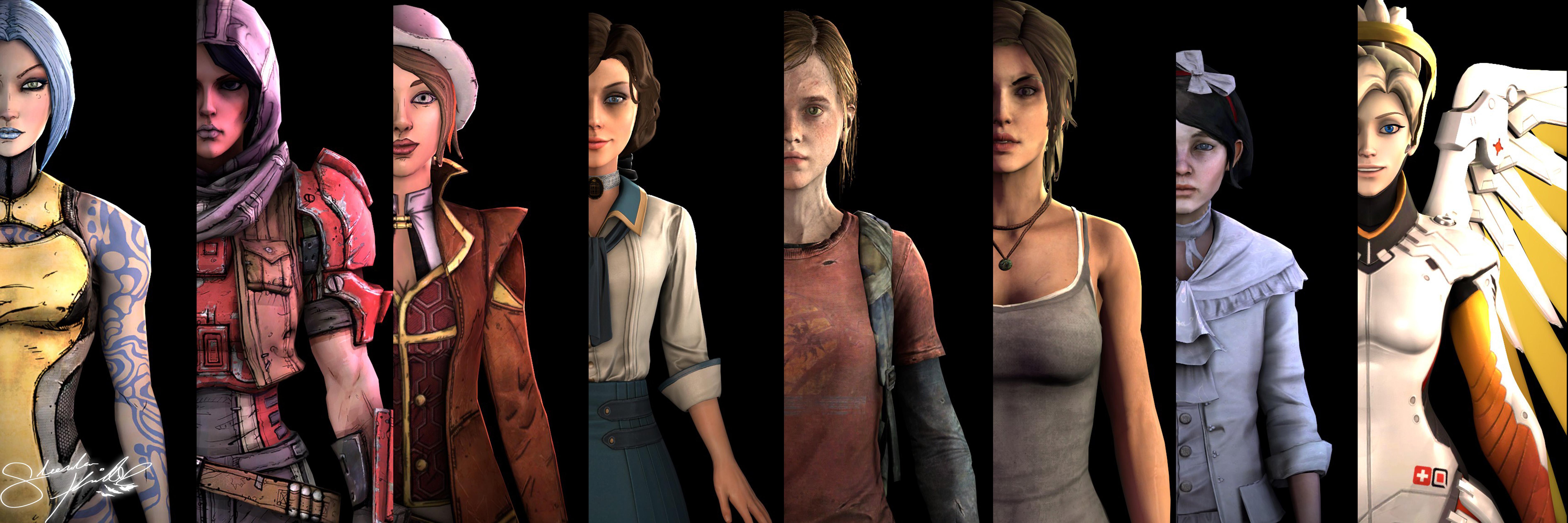 My Favorite Female Video Game Characters by SlendersKid on ...