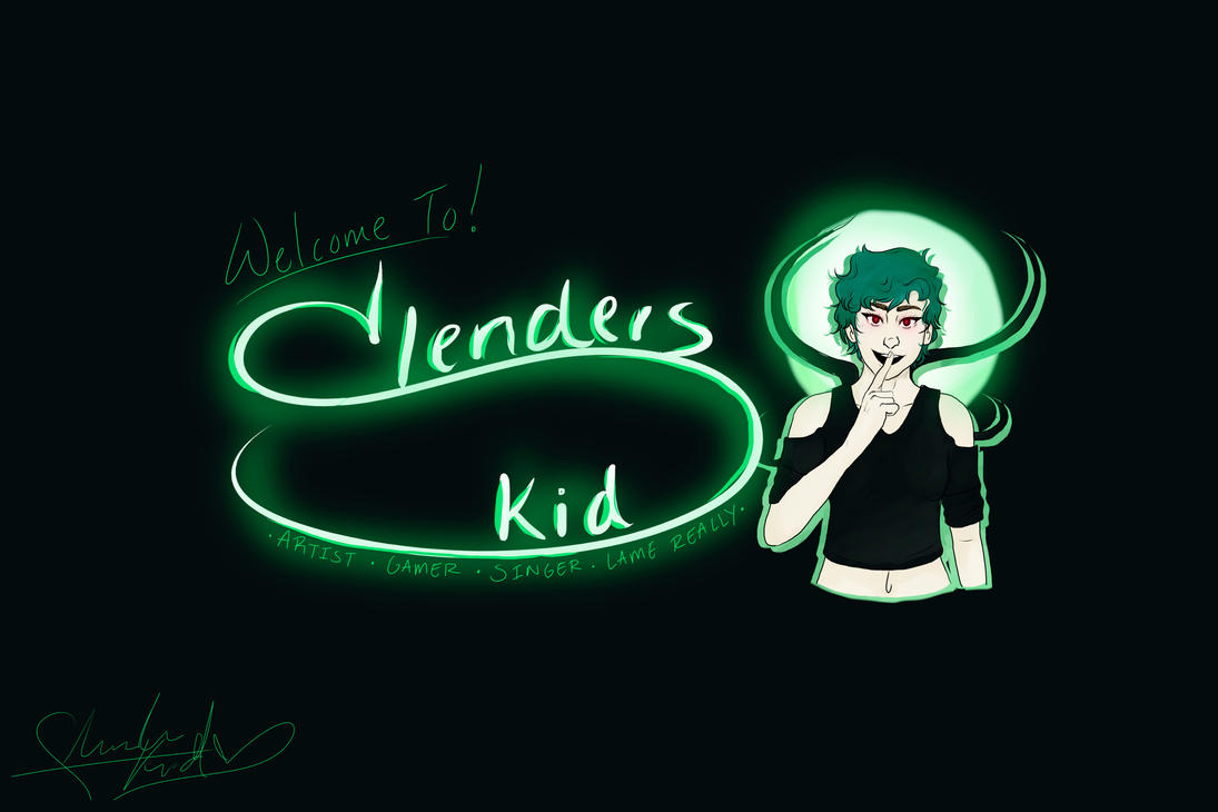 Slenderskid Youtube by SlendersKid