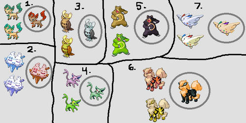 Shiny Pokemon Edits