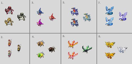 Shiny Pokemon Edits Vol. 2