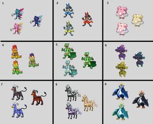 Shiny Pokemon Edits 3