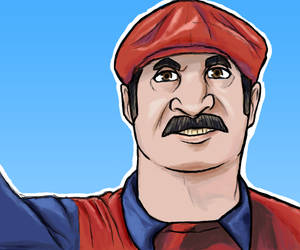 Mario Mario by RicardoAntonioArt
