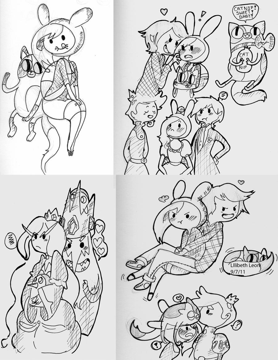 Funky Fionna And Cake Coloring Pages Image Collection Coloring