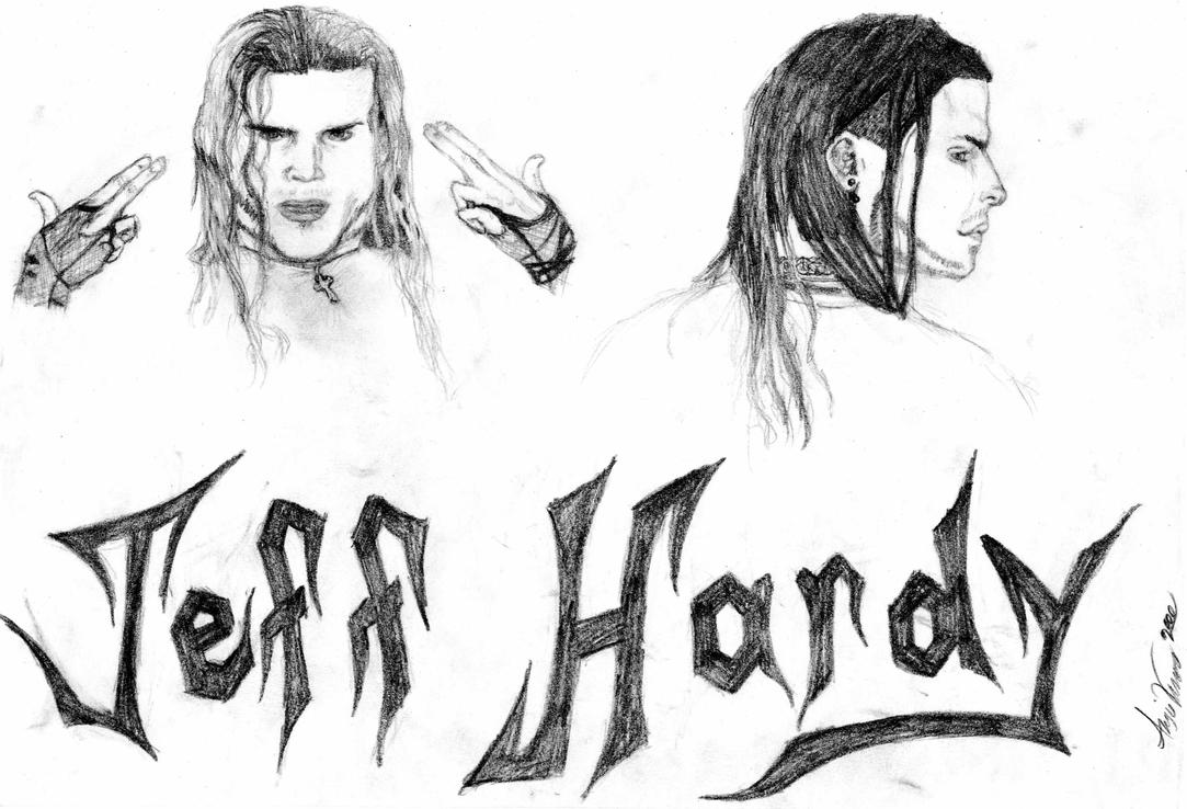 Jeff hardy by angiev on deviantart for Jeff hardy coloring pages