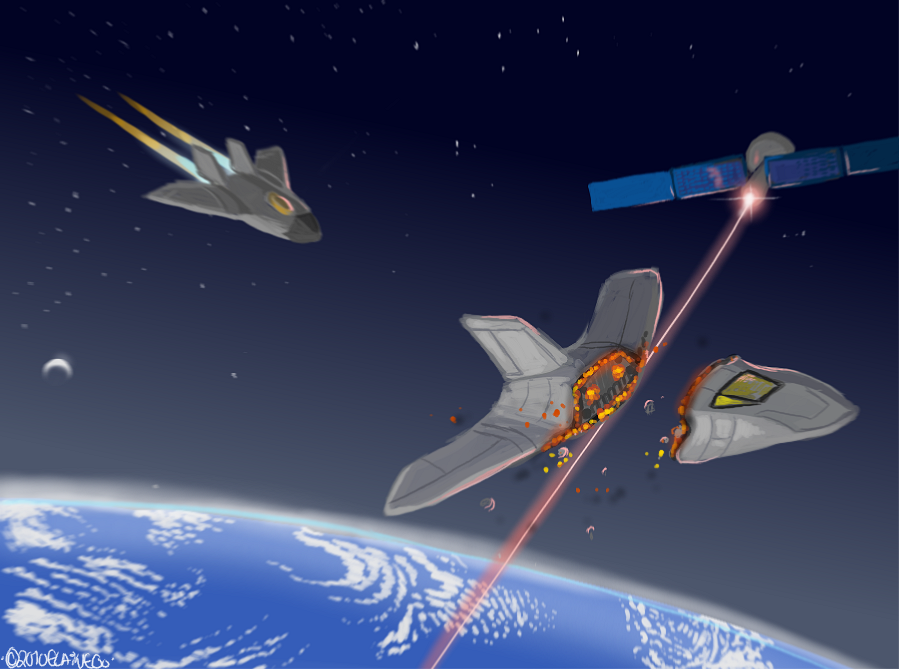 Epic Space Battle Wallpaper Not so Epic Space Battle by