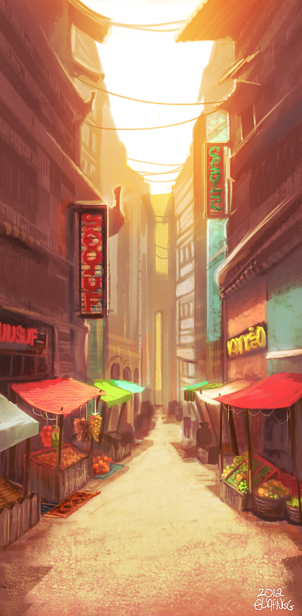 market alley by Activoid