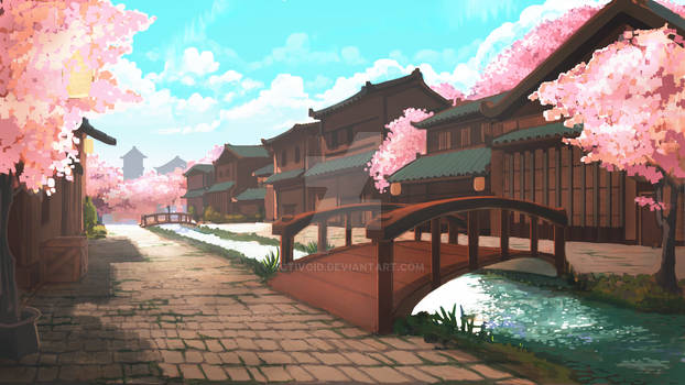 blossom town