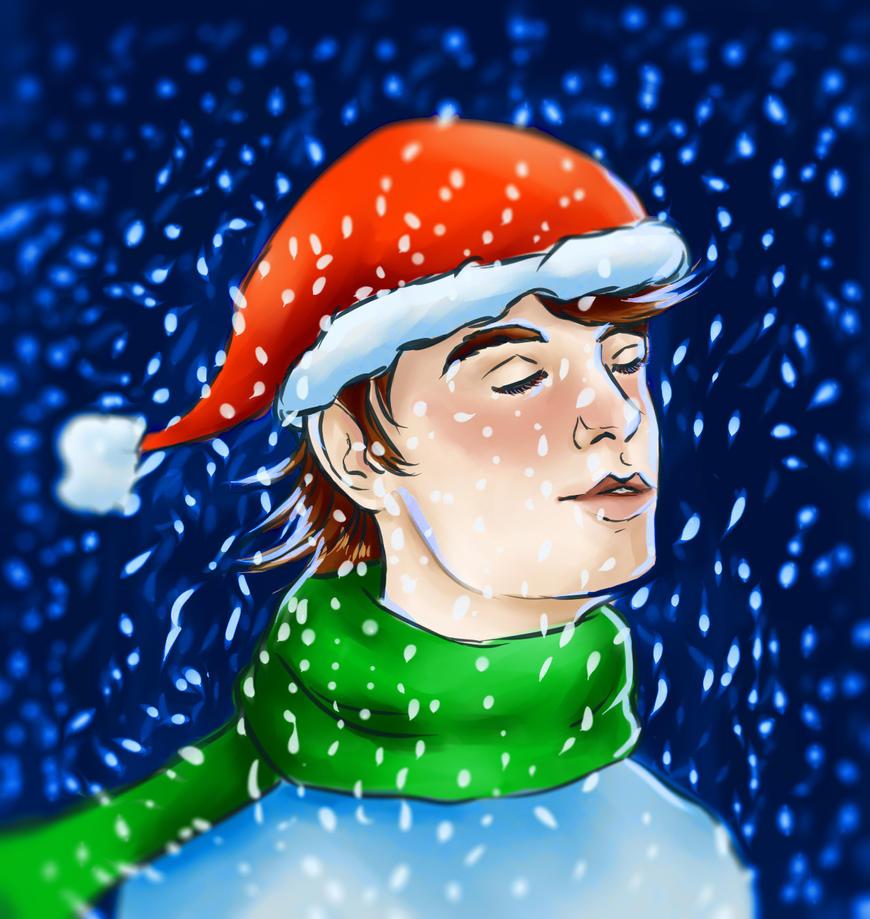 Snowing by aleksandrawolny