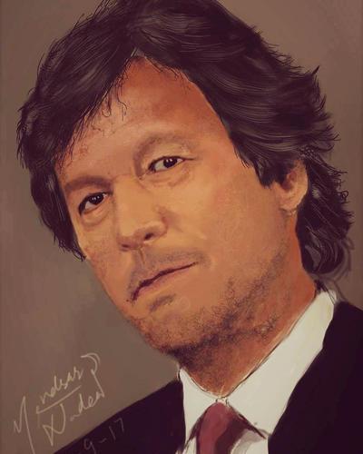 Imran khan  by CALCIDOIL