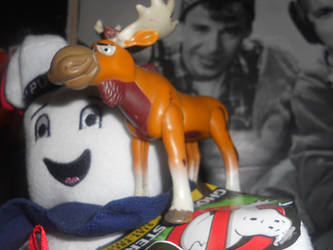 Rutt The Rick Moranis Moose by GreenandPleasant
