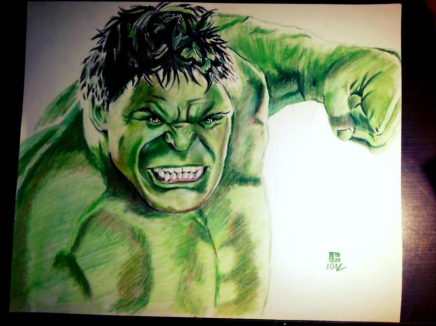 the hulk by Daniel-Trujillo