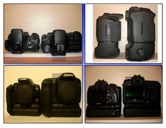 Sizing up the 400D:XTi vs 50D by Kellisanth