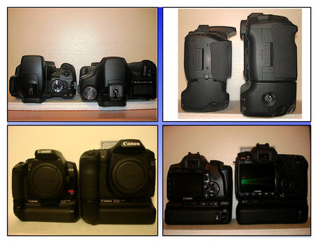 Sizing up the 400D:XTi vs 50D