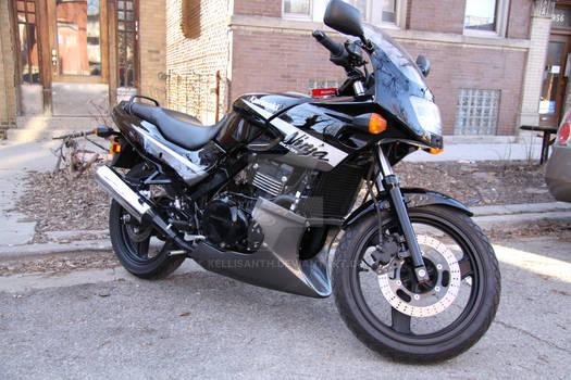 EX500 Left Profile