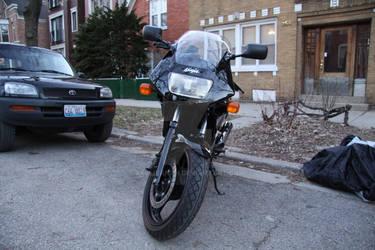EX500 Front Profile