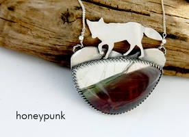 pendant with jasper