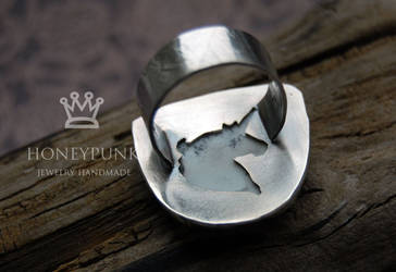 Ring White Unicorn by honeypunk