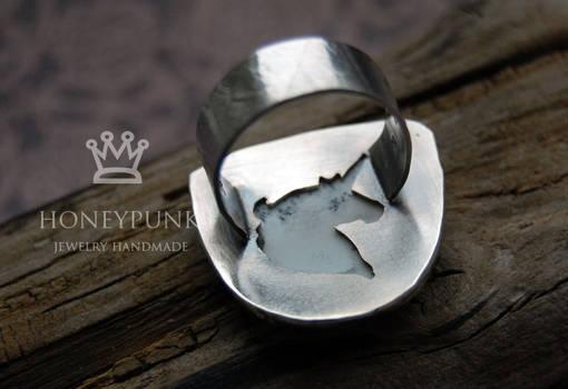 Ring White Unicorn