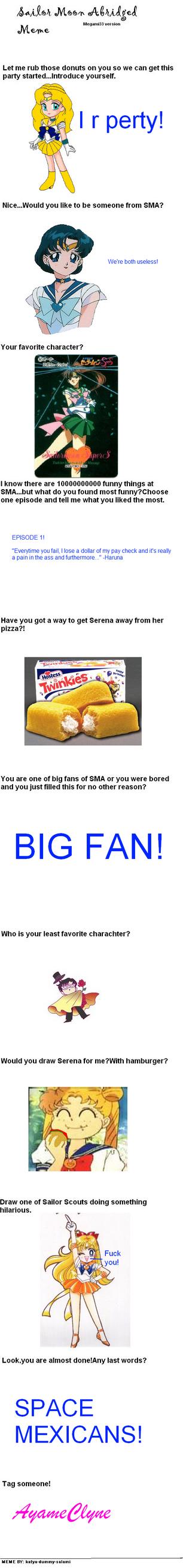 SMA Meme by mercurychanX