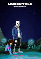 Shattered Realities (Undertale) - Ch.1 - Cover by Ink-Mug
