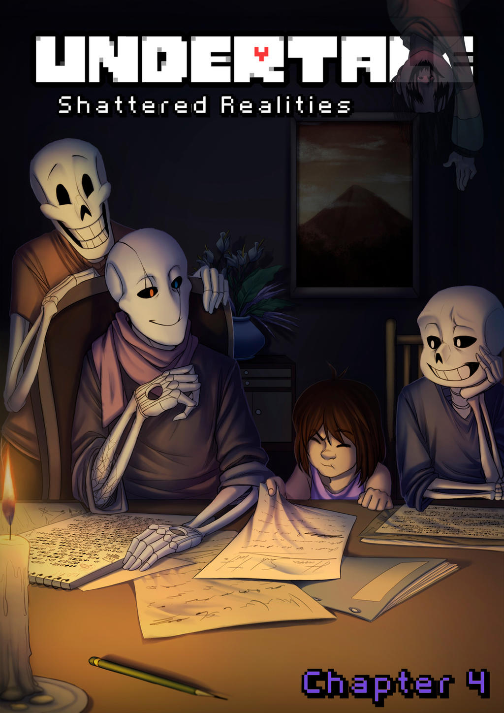 Shattered Realities - Chapter 4 - Cover by Ink-Mug