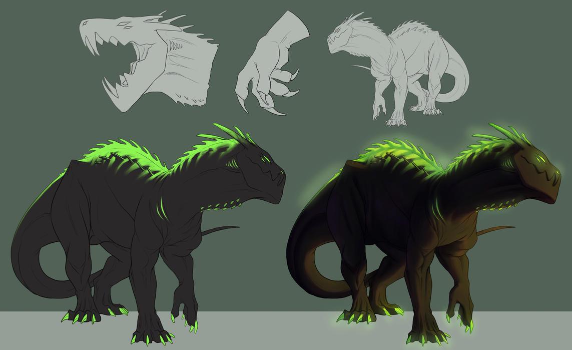 Toxic Dragon Boi Adopt -TAKEN- by Ink-Mug