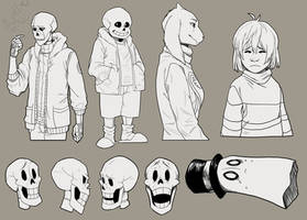Small Undertale Dump by Ink-Mug