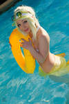 Pool Party Mercy - Poliwaggle Cosplay