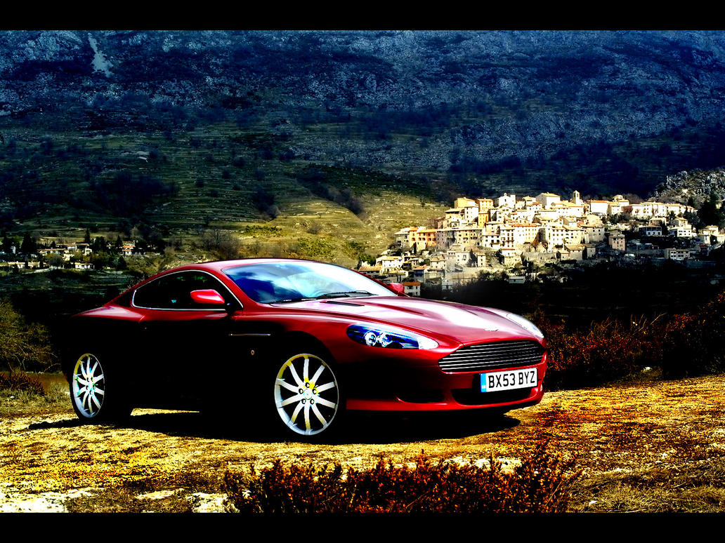 Aston Martin DB9 by youngxxblood