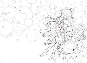 Bubble princess line