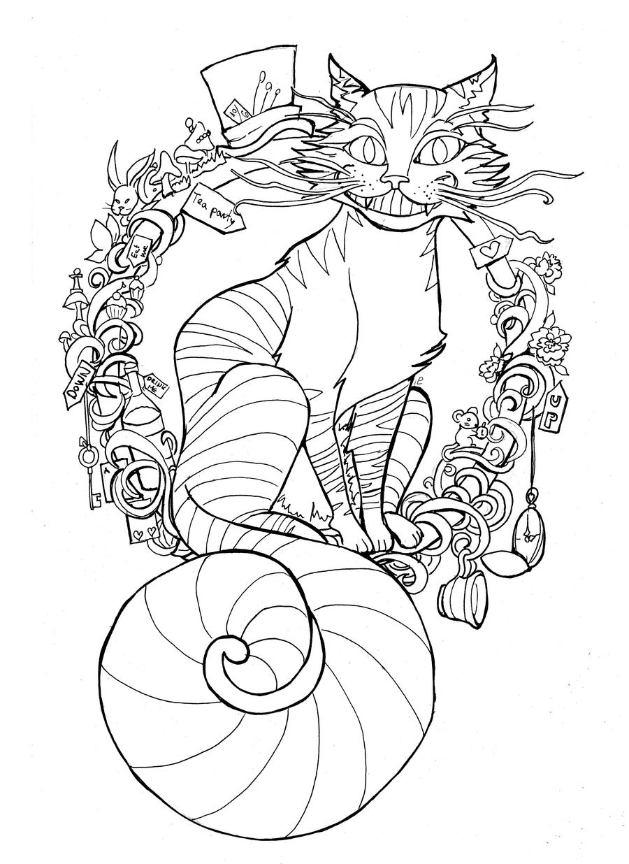 Line Art Instagram : Puuurrfect time for tea lineart by namtia on deviantart