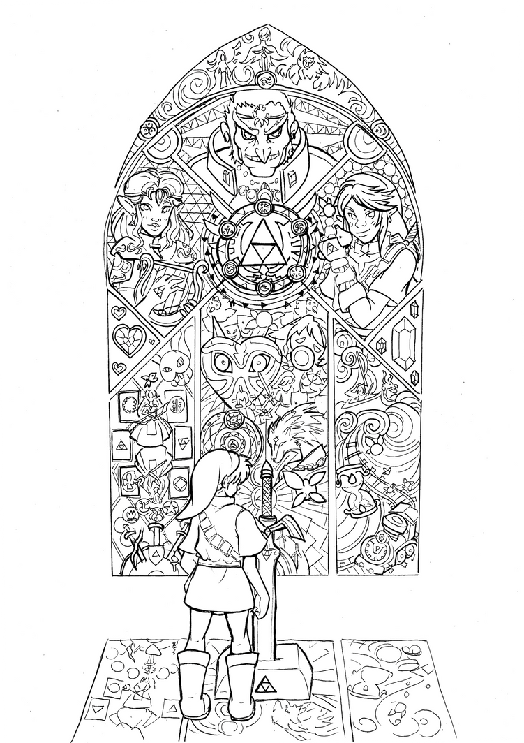 Fate - lineart