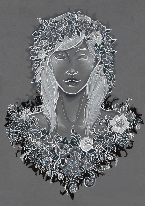 Shadow flower 2 by Namtia