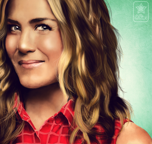 Commission Jennifer Aniston by stargazerlily8D
