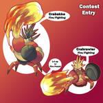 Crabrawler Contest- Fire Crabrawler and Crabakke