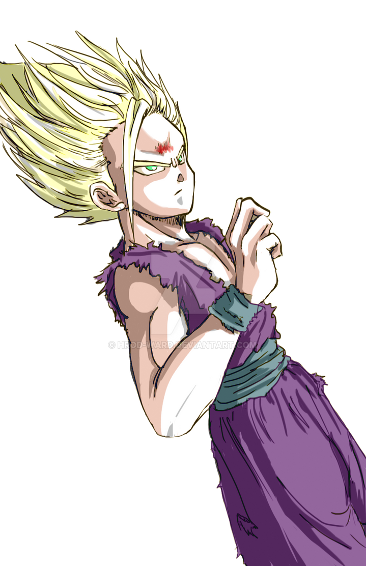 Gohan color no background finished