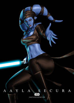 Jedi Knight Aayla Secura