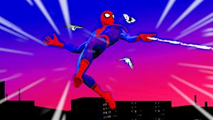 Spider-Man just being Spider-Man