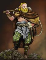 Germanic Warrior by sandu61