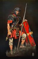 Roman Legionnaire (sec. I - II CE) by sandu61